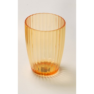 Carnation Home Fashions  Inc Orange Rib-Textured Tumbler Orange Search Results