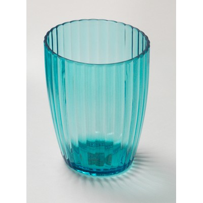 Carnation Home Fashions  Inc Cerulean Blue Rib-Textured Tumbler Blue Search Results