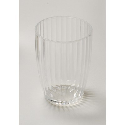 Carnation Home Fashions  Inc Clear Rib-Textured Tumbler Clear Search Results