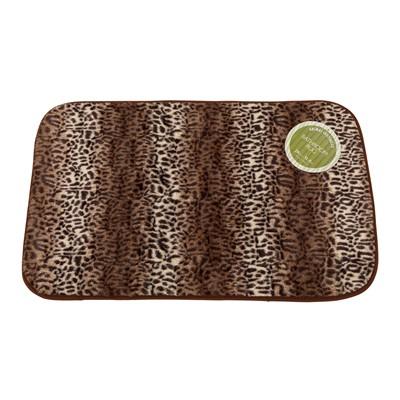 Carnation Home Fashions  Inc Cheetah Faux Fur Bath Mat Multi Search Results