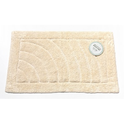 Carnation Home Fashions  Inc Medium-Sized Cotton Bath Mat in Ivory Ivory Search Results