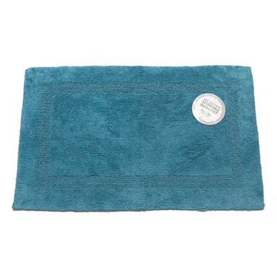 Carnation Home Fashions  Inc Large-Sized Reversible Cotton Bath Mat in Royal Blue Royal Blue Search Results