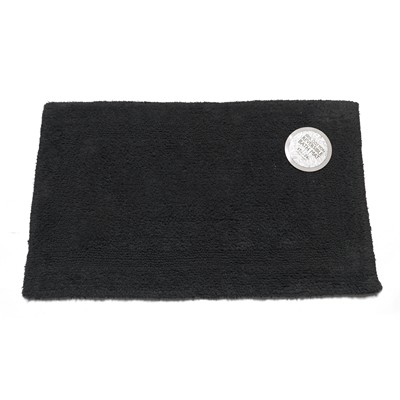 Carnation Home Fashions  Inc Medium-Sized Reversible Cotton Bath Mat in Black Black Search Results