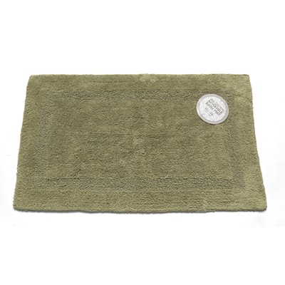 Carnation Home Fashions  Inc Medium-Sized Reversible Cotton Bath Mat in Sage Sage Search Results