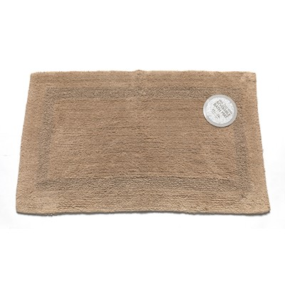 Carnation Home Fashions  Inc Medium-Sized Reversible Cotton Bath Mat in Linen Linen Search Results