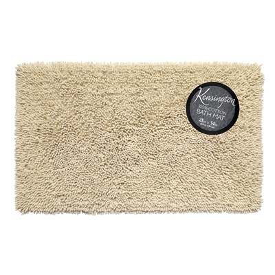 Carnation Home Fashions  Inc Shaggy Cotton Chenille Bath Room Rug Size  21x34 in Ivory Ivory Search Results