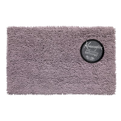 Carnation Home Fashions  Inc Shaggy Cotton Chenille Bath Room Rug Size  21x34 in Purple Purple Search Results
