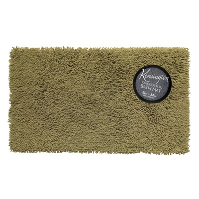 Carnation Home Fashions  Inc Shaggy Cotton Chenille Bath Room Rug Size  21x34 in Sage Sage Search Results