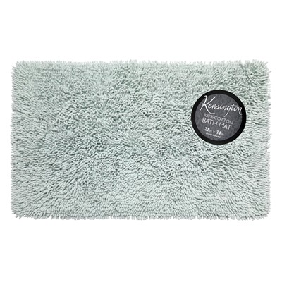 Carnation Home Fashions  Inc Shaggy Cotton Chenille Bath Room Rug Size  21x34 in Spa Blue Spa Blue Search Results