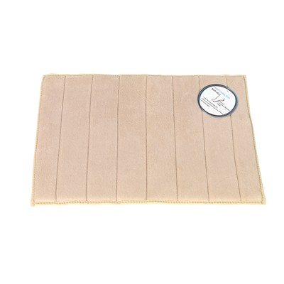 Carnation Home Fashions  Inc Medium-Sized Memory Foam Bath Mat in Ivory Ivory Search Results