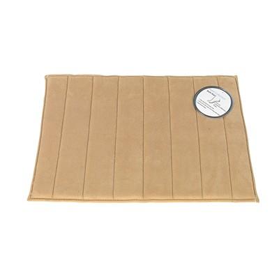 Carnation Home Fashions  Inc Medium-Sized Memory Foam Bath Mat in Linen Linen Search Results