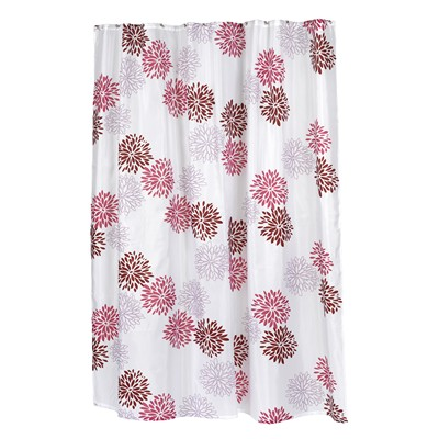 Carnation Home Fashions  Inc Emma Fabric Shower Curtain M Search Results