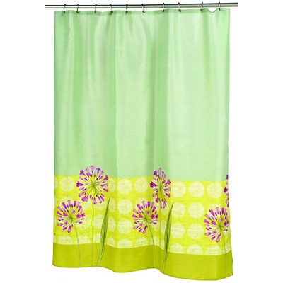 Carnation Home Fashions  Inc Serenity Fabric Shower Curtain MULTI Search Results