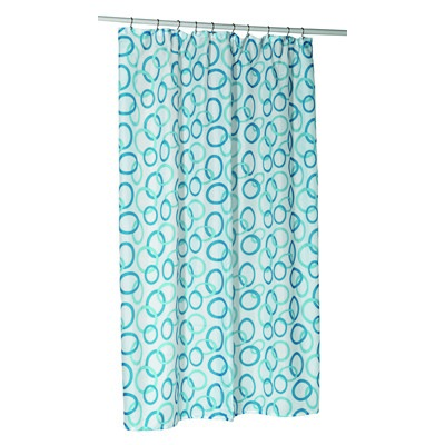 Carnation Home Fashions  Inc Circles Shower Stall-Sized Polyester Shower Curtain Liner Multi Search Results