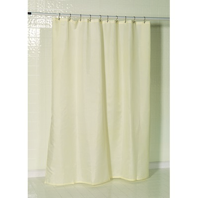 Carnation Home Fashions  Inc Nylon Fabric Shower Curtain Liner w/ Reinforced Header and Metal Grommets in Ivory Ivory Search Results