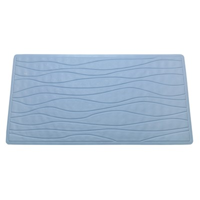 Carnation Home Fashions  Inc Small (13 x 20) Slip-Resistant Rubber Bath Tub Mat in Slate Slate Search Results