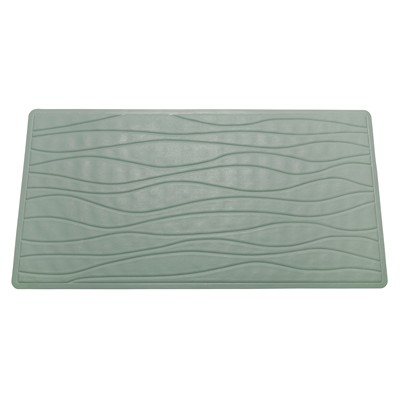 Carnation Home Fashions  Inc Small (13 x 20) Slip-Resistant Rubber Bath Tub Mat in Sage Sage Search Results