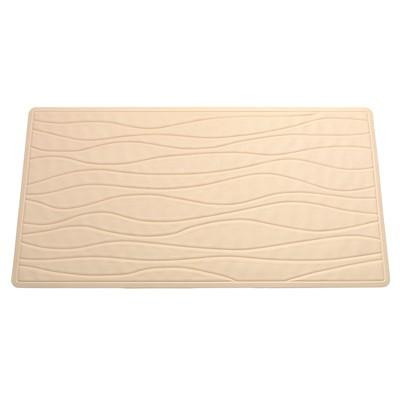 Carnation Home Fashions  Inc Large (18 x 36) Slip-Resistant Rubber Bath Tub Mat in Bone Bone Search Results