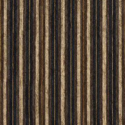 Charlotte Fabrics 5827 Espresso Stripe Charlotte Fabrics