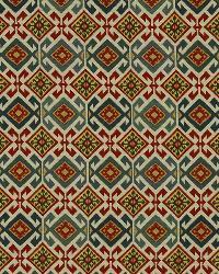 Robert Allen Azteca Red Hot Fabric