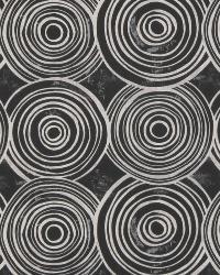 Robert Allen Whimsy Circle B Kohl Fabric