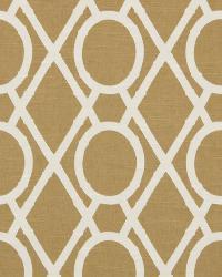 Robert Allen Lattice Bambbk Amber Fabric
