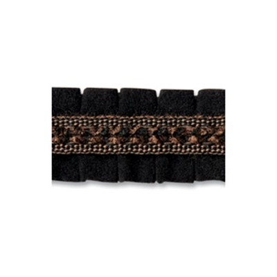 Robert Allen Trim RUSTICA PLEAT BLACK Robert Allen Trim