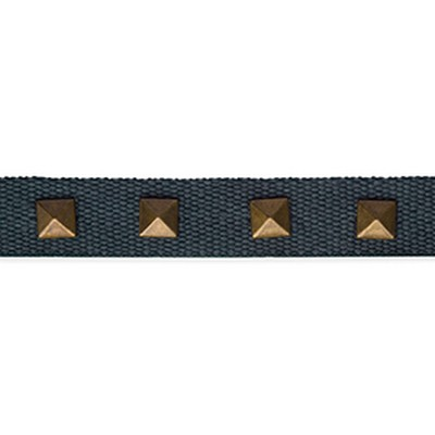 Robert Allen Trim STUDDED TAPE BATIK BLUE Robert Allen Trim