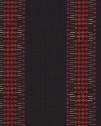 Robert Allen Hammer Stripe Orchid Fabric