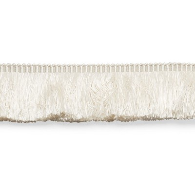Schumacher Trim FRANCOIS SILK BRUSH FRINGE IVORY Perfect Basics Trims
