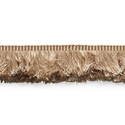 Schumacher Trim FRANCOIS SILK BRUSH FRINGE SAND Perfect Basics Trims