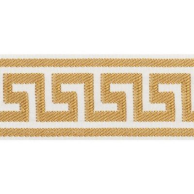 Schumacher Trim ETIENNE SILK GREEK KEY GOLD Perfect Basics Trims