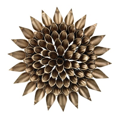 Sterling Metal Dandelion Wall D�cor Vida Gold Search Results