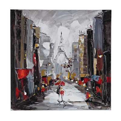 Sterling Paris Scene Oil On Canvas Oil on canvas Search Results