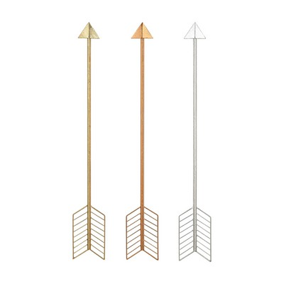 Sterling Set of 3 Metallic Arrows Copper,Silver,Gold Leaf Search Results