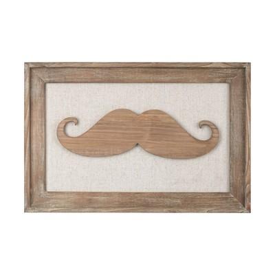 Sterling Moustache on Linen Light Honey,Natural Linen Search Results