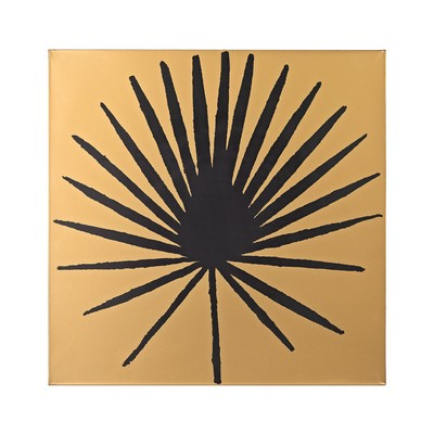 Sterling Palm Frond on Metallic Gold Wood Gold,Black Search Results
