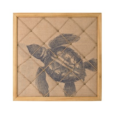 Sterling Turtle on Linen Note Board Natural Linen,Wood Search Results