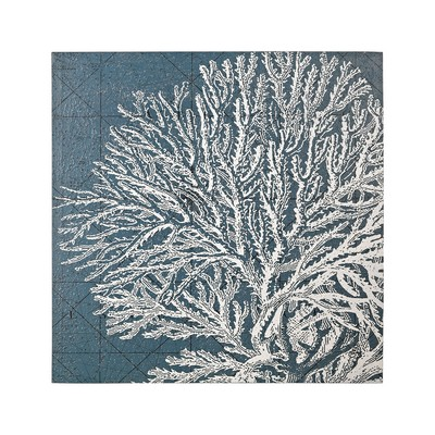 Sterling White Coral Print White,Blue Search Results