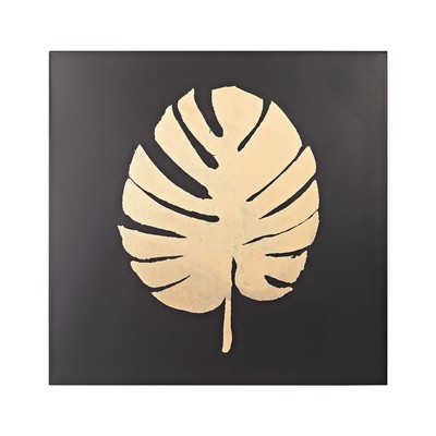 Sterling Metallic Palm Frond on Black Black,Gold Search Results