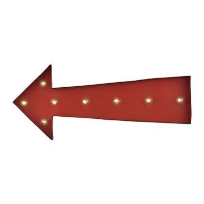 Sterling Arrow Marquee Sign Antique Red Search Results