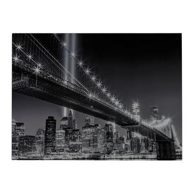 Sterling Williamsburg Bridge-Williamsburg Bridge Image Printed On Glass Black And White Search Results