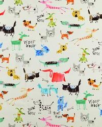 Covington Bow Wow 72 Sherbet Fabric