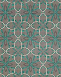 Robert Allen Four Leaf Emerald Fabric