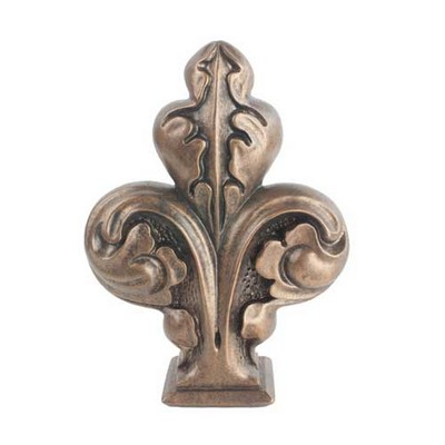 Stout Hardware Trefoil Finial for 1.5
