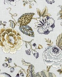 Robert Allen Lost Woods Iris Fabric