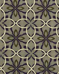 Robert Allen Four Leaf Royal Purple Fabric