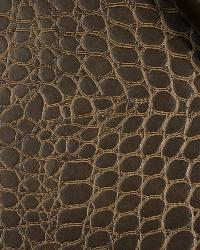 Robert Allen Mock Croc Mocha Fabric
