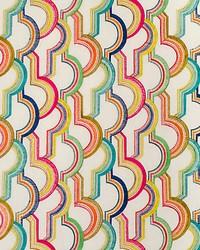 Scalamandre Tutti Frutti Embroidery Colorfulness Fabric