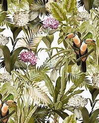Scalamandre Blooming Natural Sunlight Fabric